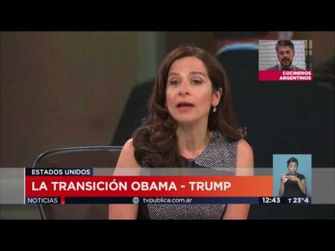 TV Pública Noticias Internacional - La transición Obama - Trump