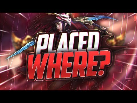 Yassuo | I GOT PLACED WHERE?!? (Placements 2/2)