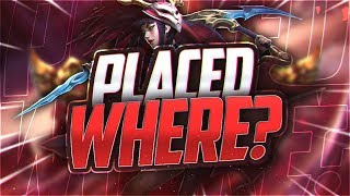 Yassuo | I GOT PLACED WHERE?!? (Placements 2/2) thumbnail