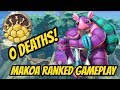 BEST RANKED MAKOA DECK! 0 DEATHS! THIS MAKOA DECK Is OP! Paladins Gameplay And Half Shell Loadout