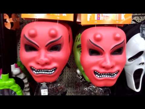 Halloween pound shop  /  candy  decoration toy hunt ( poundworld )