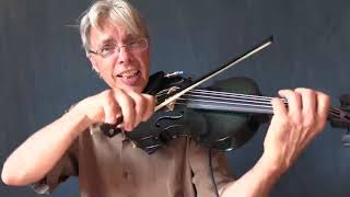 Darol Anger reviews the Glasser Electric Violin YouTube Videos