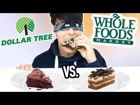 Thumbnail: DOLLAR STORE vs. WHOLE FOODS blind taste test!!!