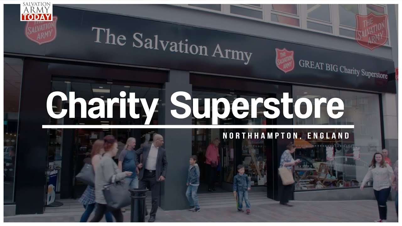 salvation army today charity superstore youtube. Black Bedroom Furniture Sets. Home Design Ideas