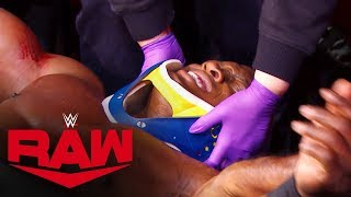 Lashley gets medical help after Rusev's attack: Raw Exclusive, Nov. 25, 2019