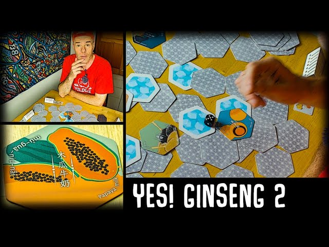 YES! GINSENG Card Game II (夜市人蔘)