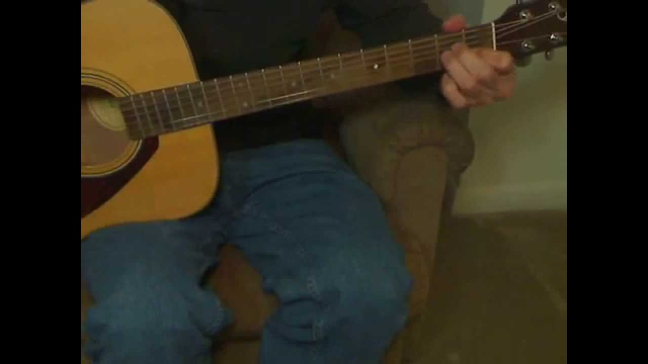 Live Lightning Crashes Acoustic Guitar Lesson Youtube