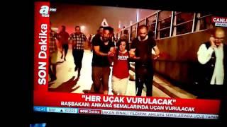15 TEMMUZ 2016 DARBE GİRİŞİMİ CANLI YAYIN ATV-AHABER