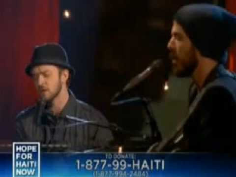 Justin Timberlake, Matt Morris 'Hope for Haiti'
