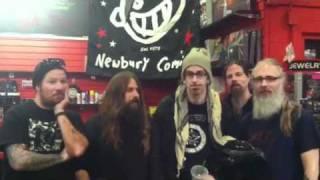 Lamb of God In-Store Jan. 25, 2012