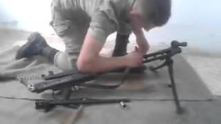 Türk Askeri MG-3 Takma 0.53 Saniye Gözü Açık   Gözü Açık MG3 Nasıl Takılır ?