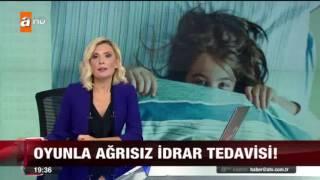 Çocukların İdrar Kaçırmasına Oyunla Ağrısız, Tedavi