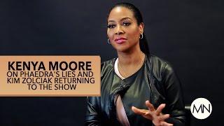 Kenya Moore Speaks On Porsha's Lies And Kim Returning To The Show