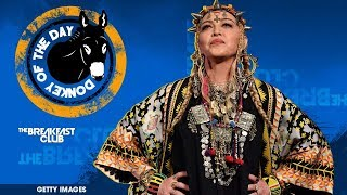 Madonna Gives Bizarre Self-Indulgent Tribute To Aretha Franklin At VMAs