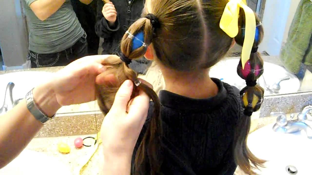 egg tails ponytails easter