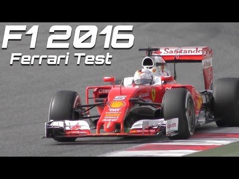 Formula 1 2016 Ferrari Sound - Best of F1 test Vettel vs Kimi