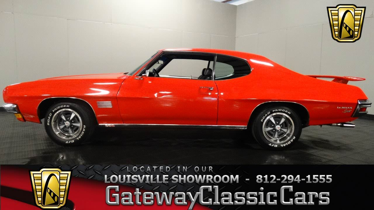 1970 Pontiac Le Mans Louisville Showroom Stock 991 Youtube 1967 Firebird Engine Wiring Diagram Free Picture