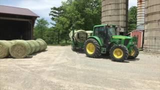 Hay Making at the Joseph Decuis Farm