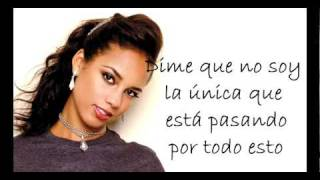 Alicia Keys - The Thing About Love (traducción en español)