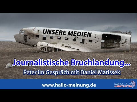 Journalistische Bruchlandung...