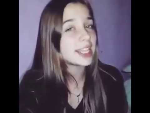 "Chica Cantando ""Dile Que Tu Me Quieres"" De Ozuna"