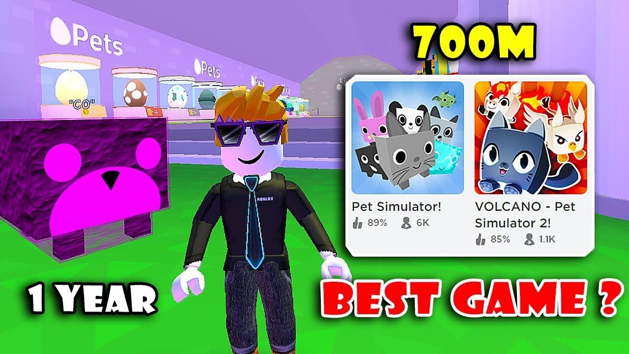 Roblox Pet Simulator Buying 14 Most Op Super Pets Volcano Pet Simulator 2 Script