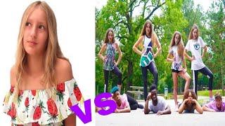 Musical.ly battle (Karina vs. Haschak Sisters)