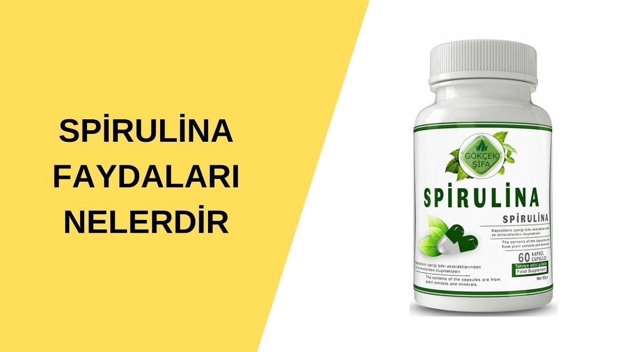 spirulina yosunu faydaları