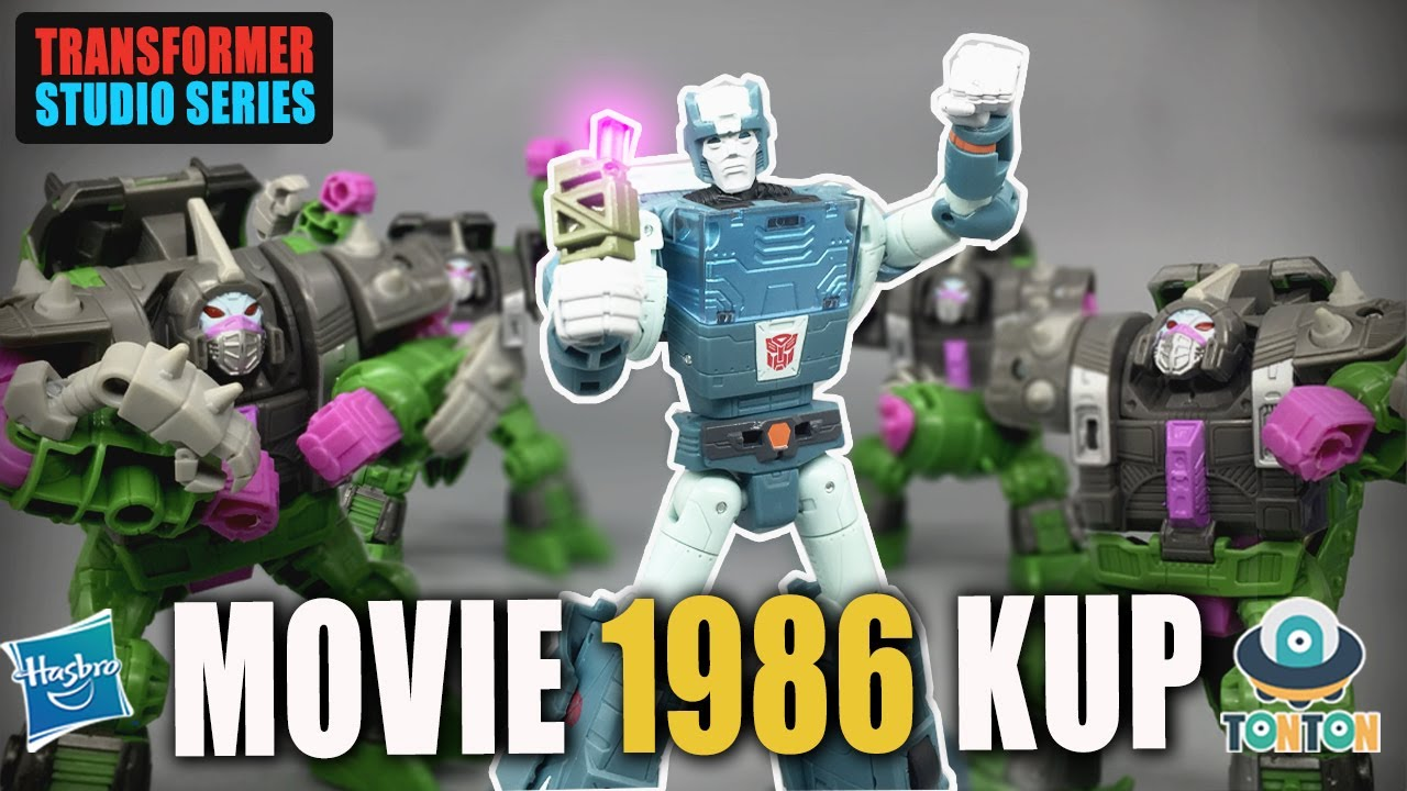 Transformer Studio Series Movie 1986 Deluxe Kup In-Hand Review and Images