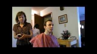 Repeat youtube video Planting and Jon's Haircutting at Grandma's.wmv