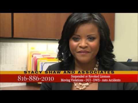 Attorney Stacy Shaw Traffic  Law Ad