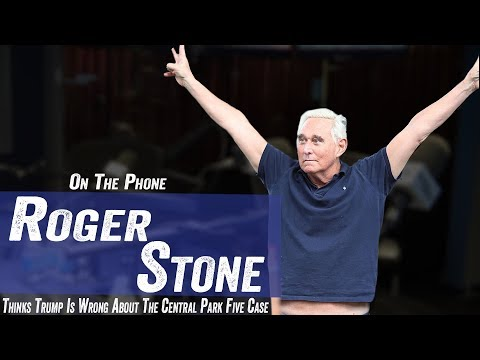 Roger Stone Thinks Trump Is Wrong About Central Five Case - Jim Norton & Sam Robert