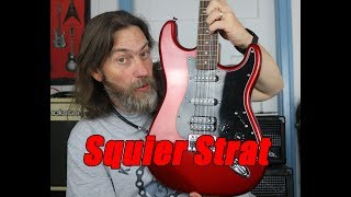Budget Gear - Squier Affinity Strat