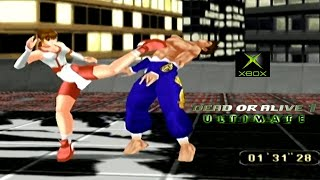 Dead or Alive 1 Ultimate playthrough (Xbox)