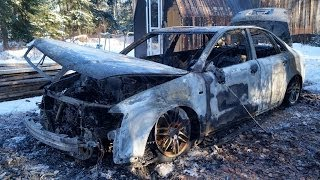 Audi A4 S Line - After The Fire