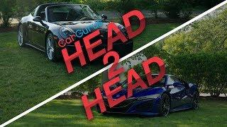 2017 Acura NSX vs. 2017 Porsche 911 Targa CarGurus Head 2 Head