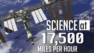 Science at 17,500 Miles Per Hour