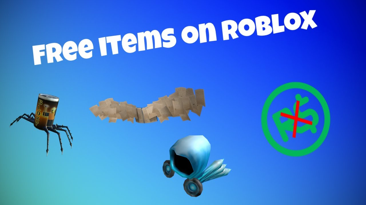 How to get free items on Roblox (May/June 2019)