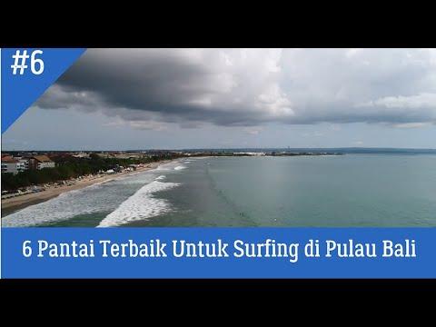 6 Pantai Yang Bagus Untuk Surfing di Pulau Bali