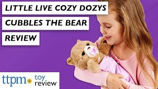 Little Live Cozy Dozys Cubbles the Bear from Moose Toys