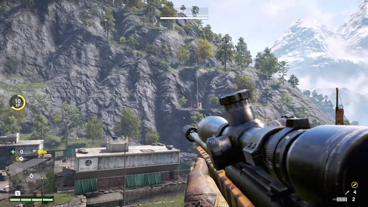 far cry 4 how to shoot