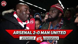 Arsenal 2-0 Man United | All My Guys Are Ballaz!! Maitland-Niles Earned Respect! (Kelechi) Video