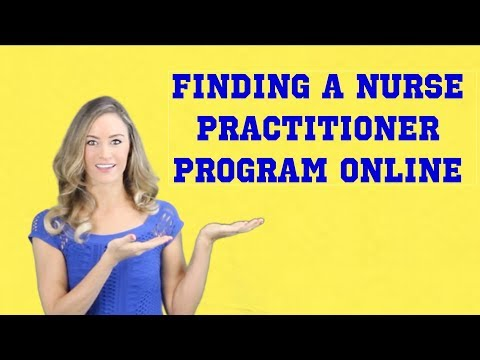 how-to-find-a-nurse-practitioner-program-online