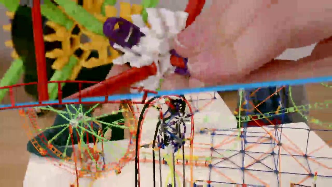 video K'NEX Thrill Rides Infinite Journey Achtbaan