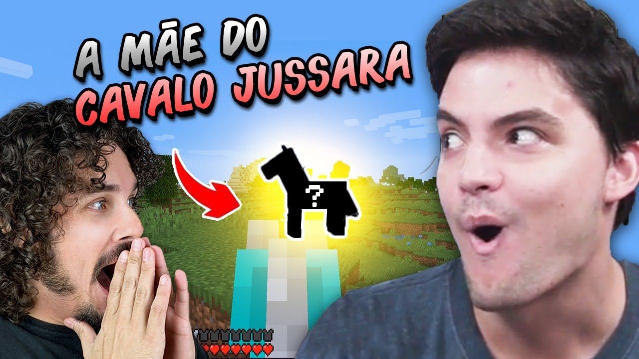 Achei a MÃE DO CAVALO JUSSARA na minha SAGA MINECRAFT!!😲 #8