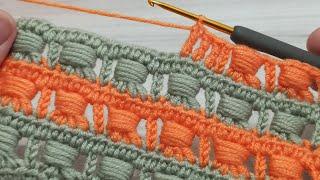 very nice crochet baby blanket model / çok guzel kolay gösterişli  tığ işi bebek battaniyesi modeli
