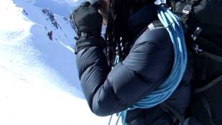 High Altitude Press Up's - Mont Blanc