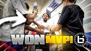 I Won MVP Of The Ballislife Celebrity Game!!