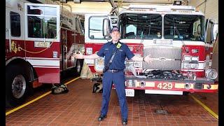 Career Day Firefighter