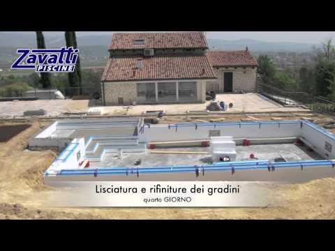 come costruire una piscina a sfioro senza vasca di compenso - YouTube